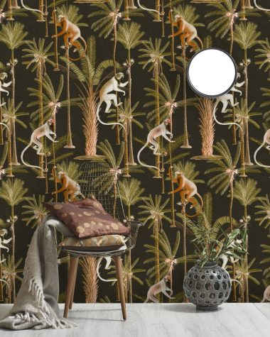 BARBADOS ANTHRACITE Wallpaper MINDTHEGAP