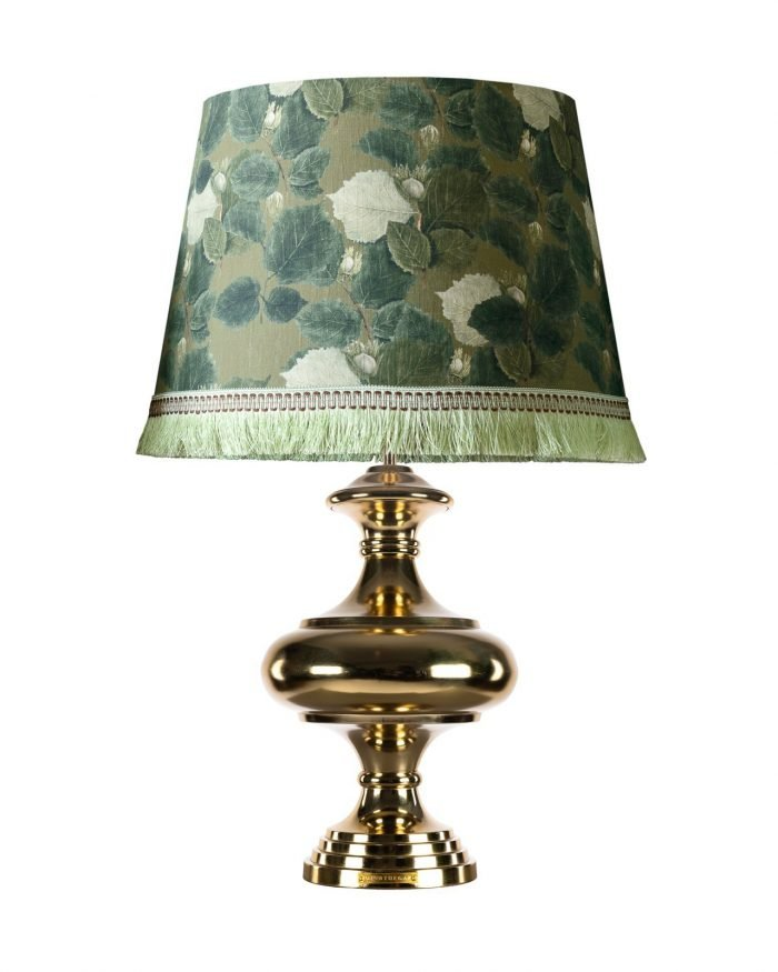 COUNTRY FLOWERS lampshade with KALASH Table Lamp Base MINDTHEGAP