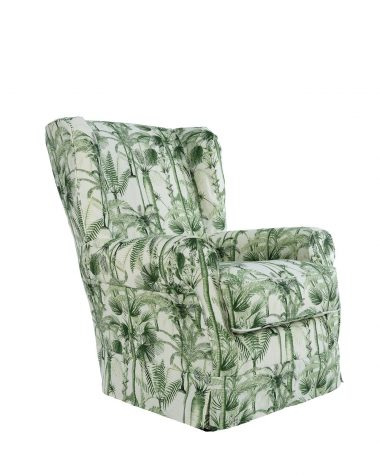 DAKOTA Skirted Armchair – PALMERA CUBANA linen