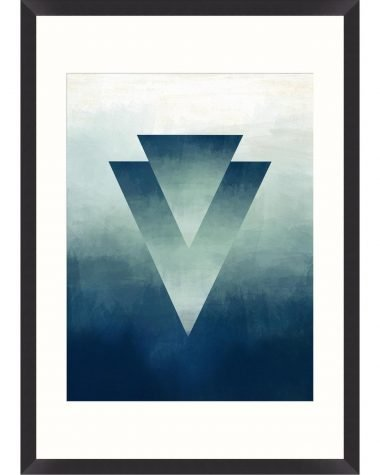 Abstract Ombre II Framed Print MINDTHEGAP