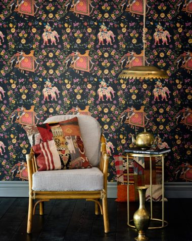 ARISTOCRACY Anthracite Wallpaper MINDTHEGAP