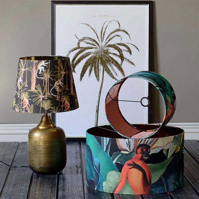 printed pendant lamps lampshades 4interior online webstore